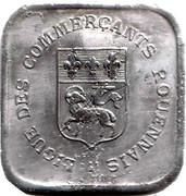 25 centimes - Ligue des Commerçants Rouennais - Rouen [76] – avers