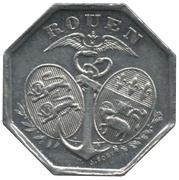 10 Centimes Chambre de Commerce de Rouen [76] – avers