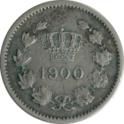 10 bani (Carol I) – avers