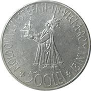 500 lei (Mihai I) – revers
