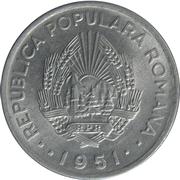 20 Lei (République populaire) – avers