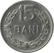 15 bani (République populaire) – revers