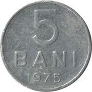 5 bani (République socialiste) -  revers