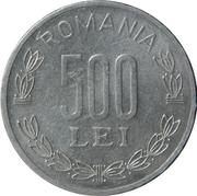 500 lei (République) -  revers