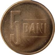 5 Bani (Aigle sans couronne) -  revers