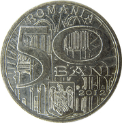 50 Bani (Neagoe Basarab) – avers