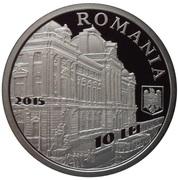 10 lei 135 ans de la banque nationale -  avers