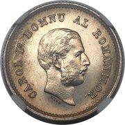 50 Bani - Carol I (Essai) – avers