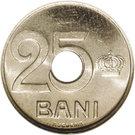 25 Bani - Ferdinand I (Pattern Strike) – revers