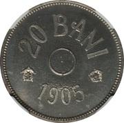 20 Bani - Carol I (Essai) – revers