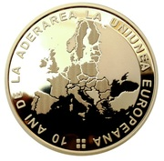 50 Bani (Union Européenne) – revers