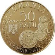 50 bani (Carol I) – avers