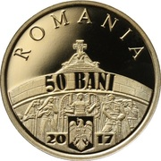 50 Bani (Victoires de l'armée roumaine) – avers