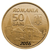50 bani – avers