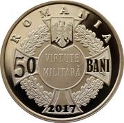 50 Bani (Ecaterina Teodoroiu) – avers