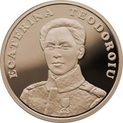 50 Bani (Ecaterina Teodoroiu) – revers