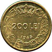 200 lei (Mihai I) – revers