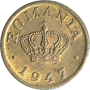 50 bani (Mihai I) – avers