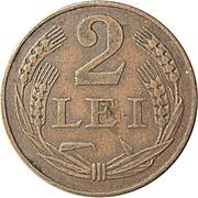 2 lei (Mihai I) – revers