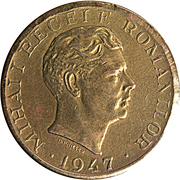 10000 lei (Mihai I) – avers