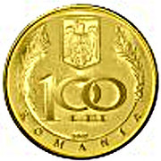 100 Lei (Dimitrie Cantemir) – avers