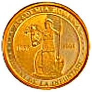 50 Lei (Romanian Academy) – revers
