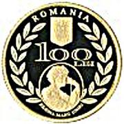 100 Lei (Queen Marie) – avers
