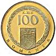 100 Lei (Publius Ovidius Naso) – avers