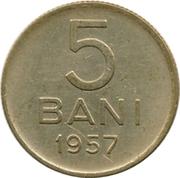5 bani (République populaire) – revers