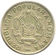 10 Bani (ROMANA ; avec étoile) – avers
