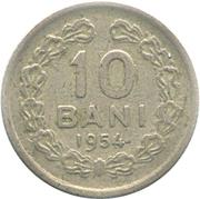 10 Bani (ROMANA ; avec étoile) – revers