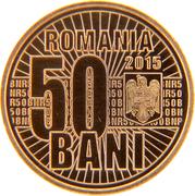 50 Bani (Redenomination of the Leu) – avers