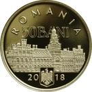 50 bani Bucovine – avers
