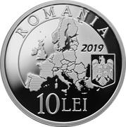 10 lei Présidence du Conseil de l'Union européenne – avers