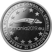 10 lei Présidence du Conseil de l'Union européenne – revers