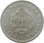 5 Lei (République populaire) – avers