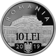 10 Lei (Alexandru Marghiloman) – avers
