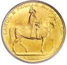 12 Ducat - Carol II (Galben Mare) – revers