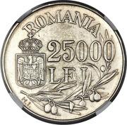 25 000 Lei - Mihai I (Essai) – revers