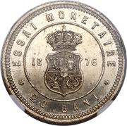 20 bani - Carol I (Essai) – avers
