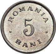 5 Bani - Carol I – revers