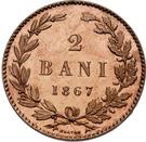 2 Bani - Carol I – revers