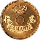 10 bani (Pattern) – avers