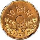 10 bani (Pattern) – revers
