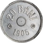 20 bani (Pattern) – revers