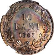 10 Bani - Carol I -  avers