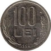 100 lei (République) -  revers