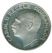 250 lei (Carol II) – avers