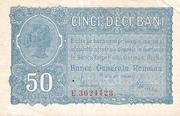 50 Bani - German Occupation – avers