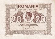 20 Lei 1945 – avers